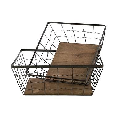 Urban Trends Metal 2 Piece Basket Set