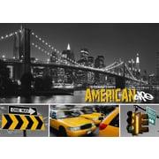 TAF DECOR American Life 2 Graphic Art on Canvas