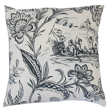The Pillow Collection Kanaifu Toile Bedding Sham; Euro