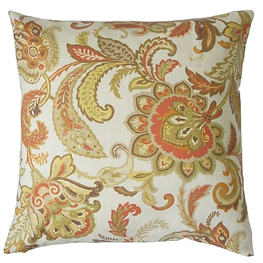 The Pillow Collection Pelagia Floral Bedding Sham; Queen