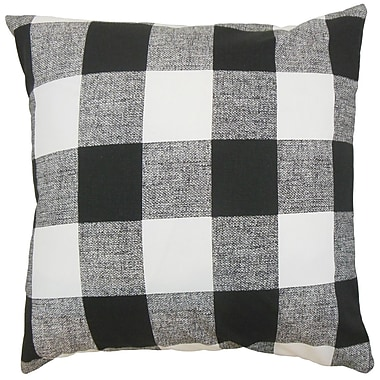 The Pillow Collection Alfonso Plaid Bedding Sham; King