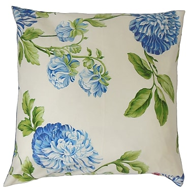 The Pillow Collection Zarina Floral Bedding Sham; Standard