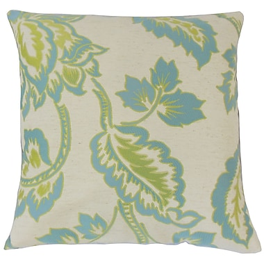 The Pillow Collection Altessa Floral Bedding Sham; Euro