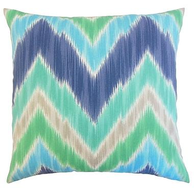 The Pillow Collection Daemyn Outdoor Sham; Queen
