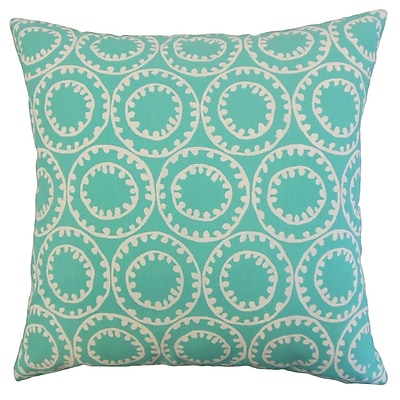 The Pillow Collection Abdiel Outdoor Throw Pillow; 20'' x 20''