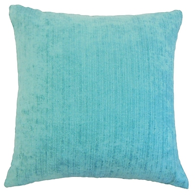 The Pillow Collection Tahsin Solid Outdoor Throw Pillow; 18'' x 18''