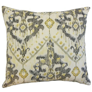 The Pillow Collection Picabia Ikat Bedding Sham; Queen