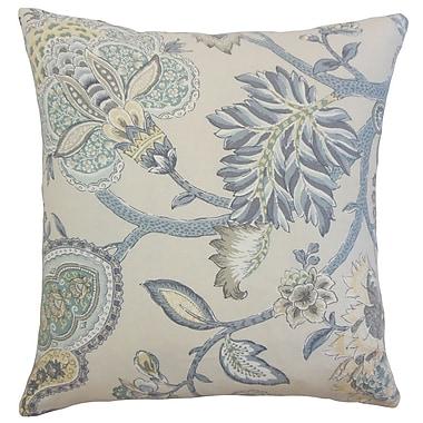 The Pillow Collection Liora Floral Bedding Sham; Euro