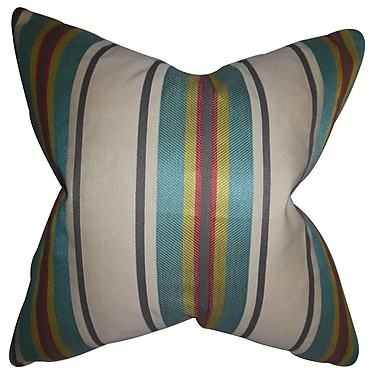 The Pillow Collection Osric Stripe Bedding Sham; Euro