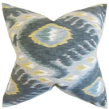 The Pillow Collection Barnum Ikat Bedding Sham; Euro