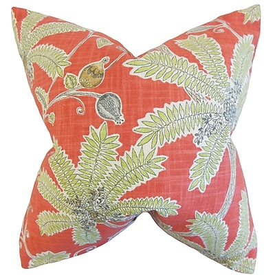The Pillow Collection Yahor Foliage Bedding Sham; King