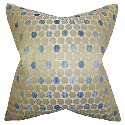 The Pillow Collection Itzel Geometric Bedding Sham; Queen