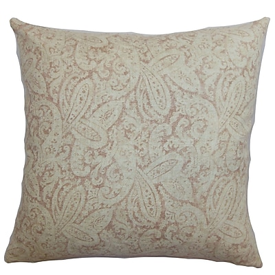 The Pillow Collection Benigna Paisley Bedding Sham; Standard