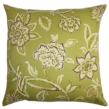The Pillow Collection Walcott Floral Outdoor Sham; Standard