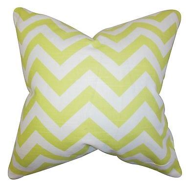 The Pillow Collection Gaines Chevron Bedding Sham; Euro