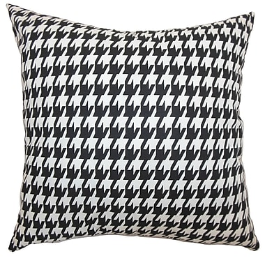 The Pillow Collection Ceres Houndstooth Bedding Sham; King