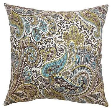 The Pillow Collection Dorcas Paisley Bedding Sham; Euro