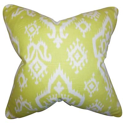 The Pillow Collection Ishaq Ikat Bedding Sham; Euro