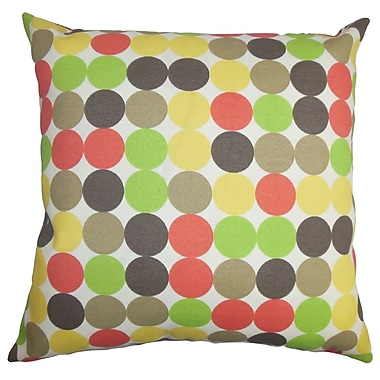 The Pillow Collection Sacnite Geometric Outdoor Sham; Queen