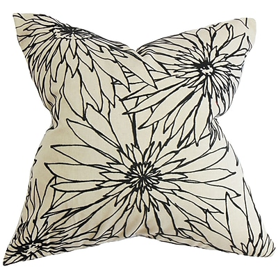 The Pillow Collection Phedora Floral Bedding Sham; Standard