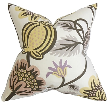 The Pillow Collection Quintana Floral Bedding Sham; Standard