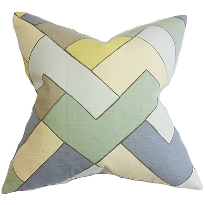 The Pillow Collection Jeppe Geometric Bedding Sham; Standard