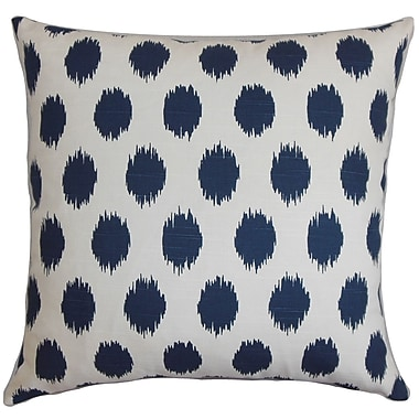 The Pillow Collection Faustine Ikat Bedding Sham; Euro