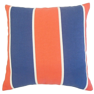 The Pillow Collection Hagan Geometric Outdoor Throw Pillow; 18'' x 18''
