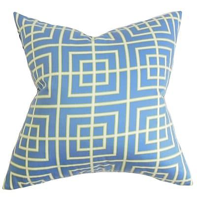 The Pillow Collection Helmut Geometric Bedding Sham; Standard
