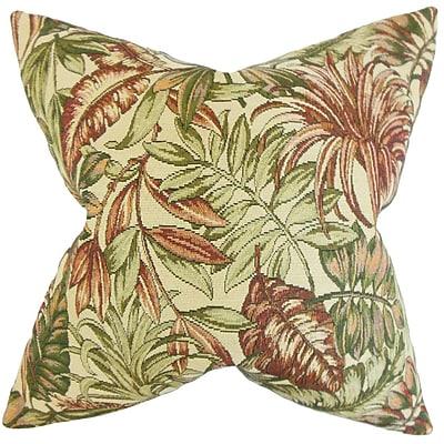 The Pillow Collection Oracia Foliage Bedding Sham; Queen