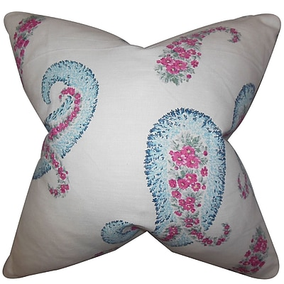 The Pillow Collection Jarlath Floral Bedding Sham; King