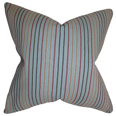 The Pillow Collection Jaylen Stripes Bedding Sham; Euro