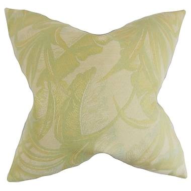 The Pillow Collection Etain Foliage Bedding Sham; Euro