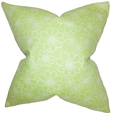 The Pillow Collection Hagar Floral Bedding Sham; Queen