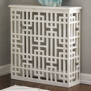 Global Views Marble Gridblock Console Table