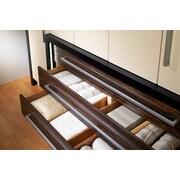 YBM Home Kitchen Bamboo Deep Kitchen Drawer Divider; 16.625'' H x 4.125'' W x 0.625'' D
