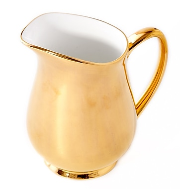 CRU by Darbie Angell Monaco 6 oz. Creamer; 24 KT Gold