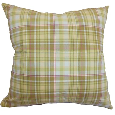 The Pillow Collection Banff Plaid Bedding Sham; King
