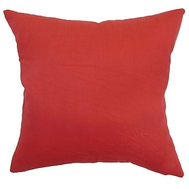 The Pillow Collection Calvi Plain Bedding Sham; Euro