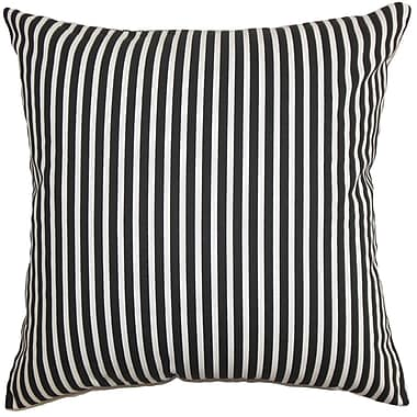 The Pillow Collection Elvy Stripes Bedding Sham; Standard
