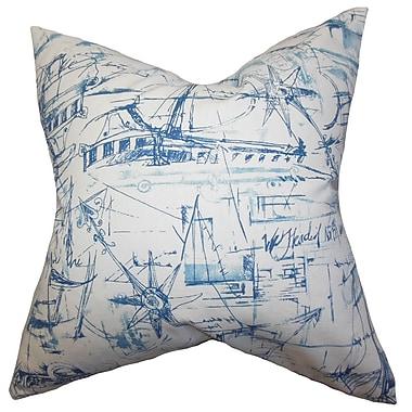 The Pillow Collection Hobson Coastal Bedding Sham; Euro