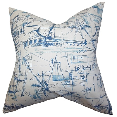 The Pillow Collection Hobson Coastal Bedding Sham; King