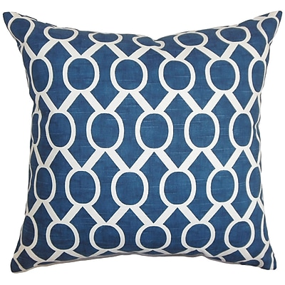 The Pillow Collection Raziya Geometric Bedding Sham; Euro