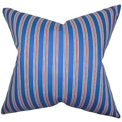 The Pillow Collection Corliss Stripes Bedding Sham; Euro
