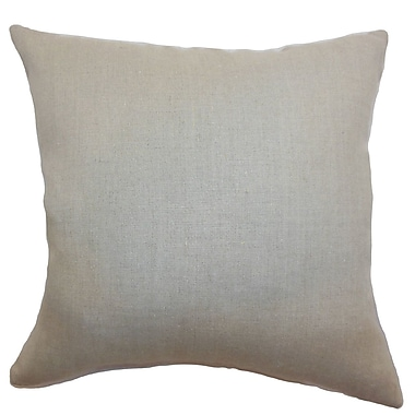 The Pillow Collection Urania Plain Bedding Sham; Queen