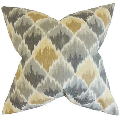 The Pillow Collection Urya Ikat Bedding Sham; Euro