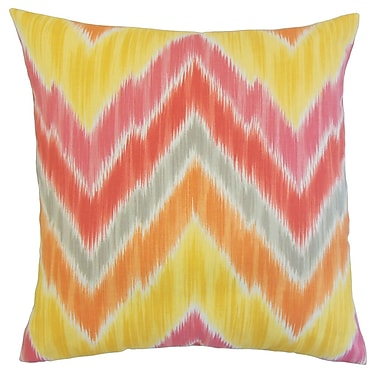 The Pillow Collection Walta Outdoor Sham; Queen
