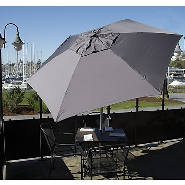 Parasol 8.5' Market Umbrella; Charcoal
