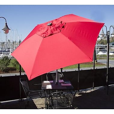 Parasol 8.5' Market Umbrella; Red