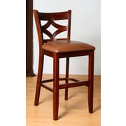 Benkel Seating Rego 30'' Bar Stool; Medium Oak